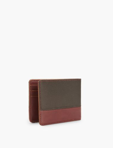 Lucky Nylon Leather Wallet