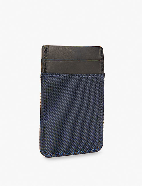 NYLON LEATHER CARD CASE,