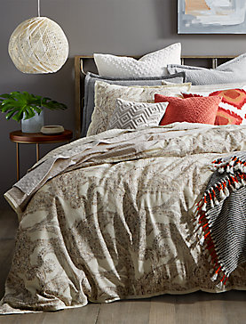 Leila Paisley Queen Bedroom Collection, , productTileDesktop