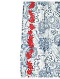 PAISLEY GARDEN SCARF, DARK BLUE