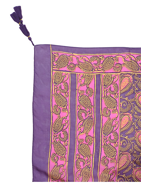 BALI PAISLEY, MEDIUM LIGHT PURPLE