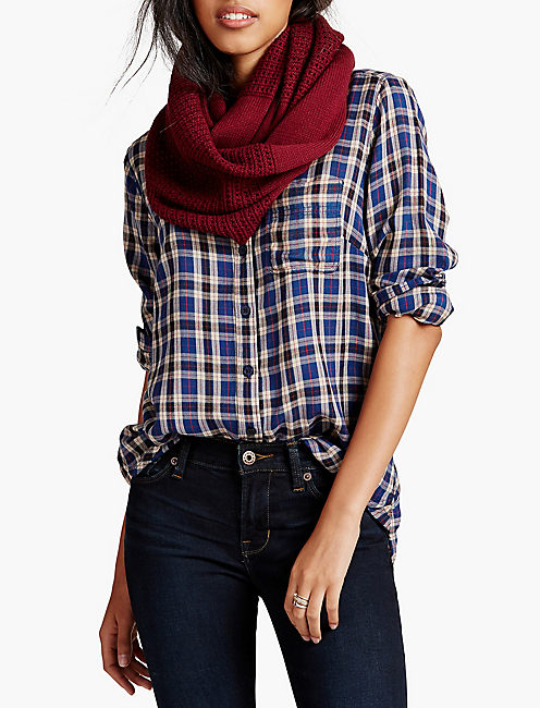 INFINITY SCARF, MIXED BERRY
