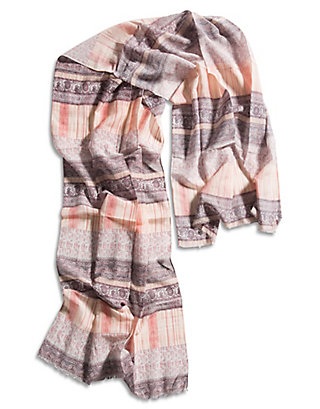 LUCKY ITZAL WOODBLOCK SCARF