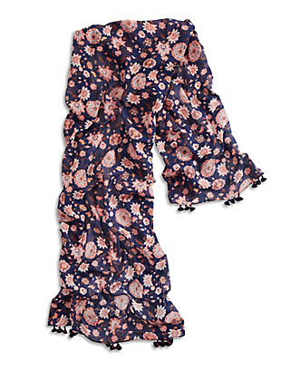 LUCKY VINE FLORAL SCARF