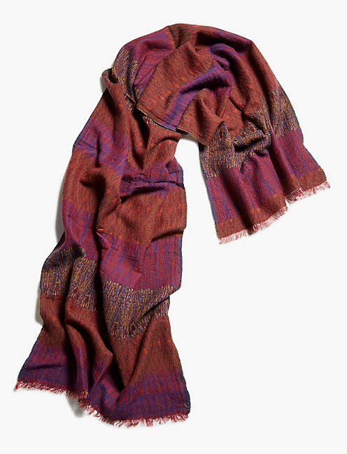 Lucky Ikat Scarf