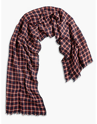 LUCKY CHECK SCARF