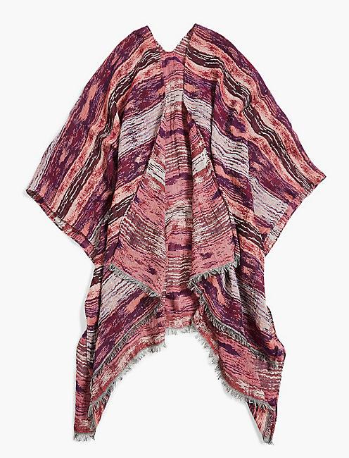 Lucky Ikat Jacquard Kimono