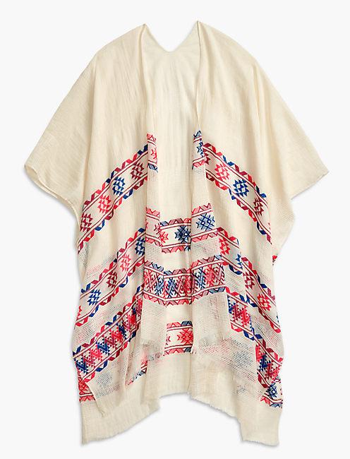 Lucky Inca Geo Kimono