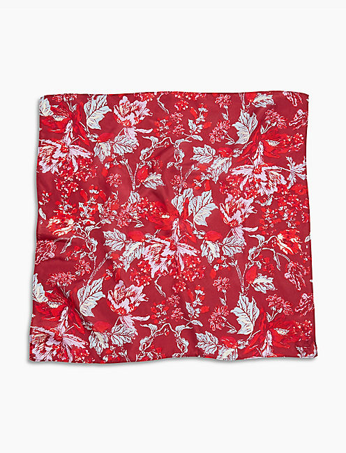 LUCKY WILLA FLORAL BANDANA