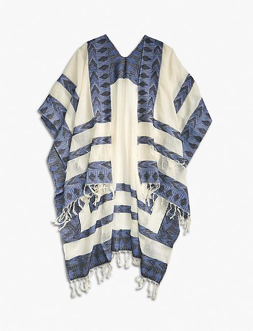 Lucky Aztec Textured Kimono