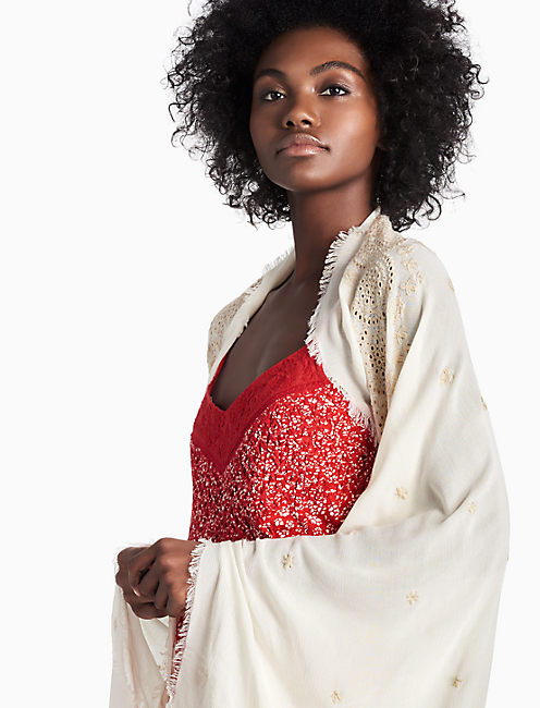 EMBROIDERED BOLERO,