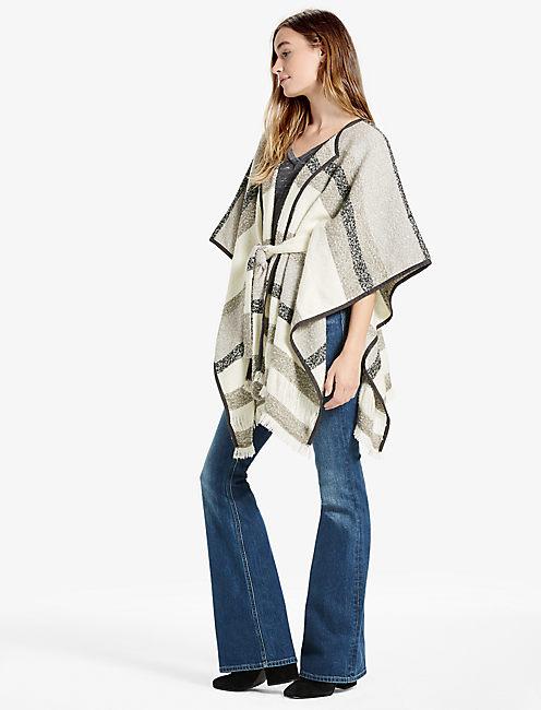 Lucky Stripe Kimono Jacket