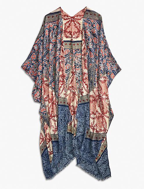 Lucky Bundy Floral Kimono