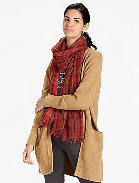 PLAID MULTI SCARF