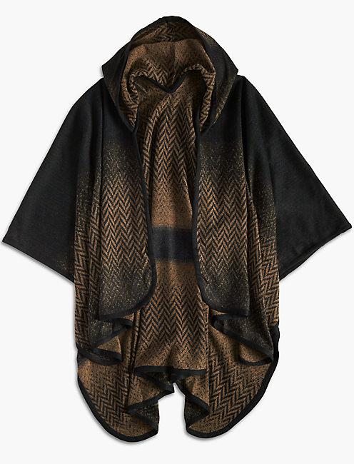 Lucky Ombre Hooded Kimono
