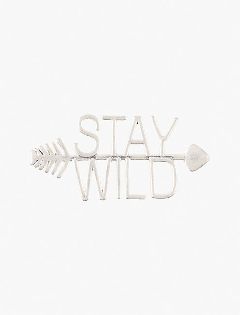 STAY WILD PIN,