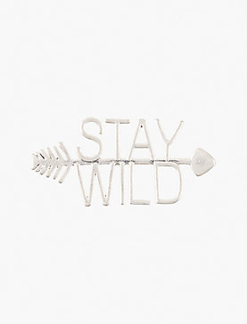STAY WILD PIN