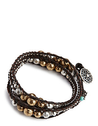 LUCKY METAL WRAP BRACELET