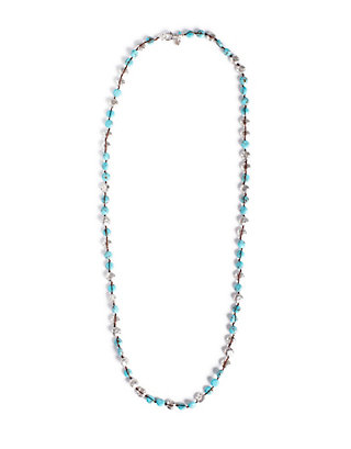 LUCKY TURQUOISE COIN NECKLACE