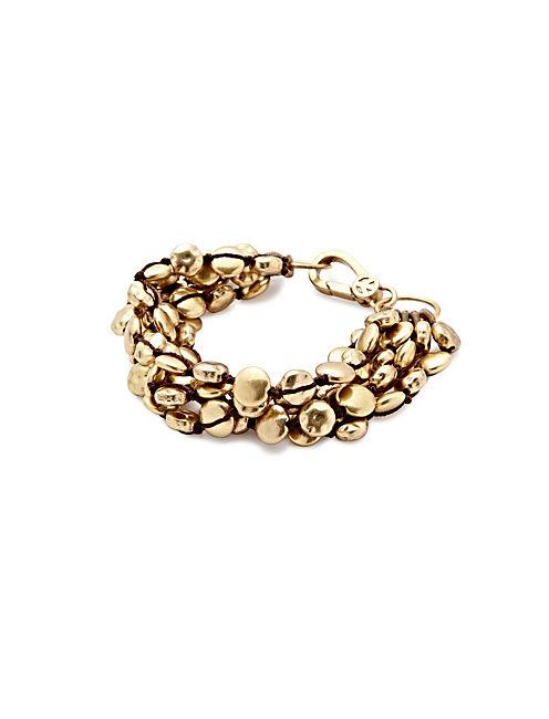 GOLD COIN BRACELET,