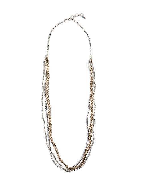 TRIPLE LAYER NECKLACE,