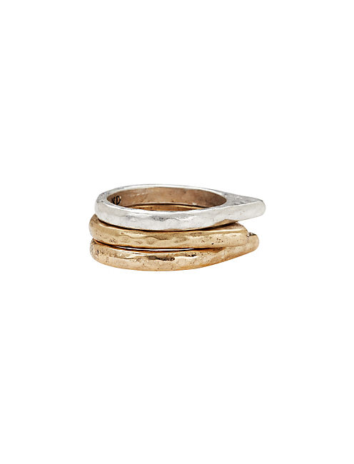 METAL STACK RING, MULTI