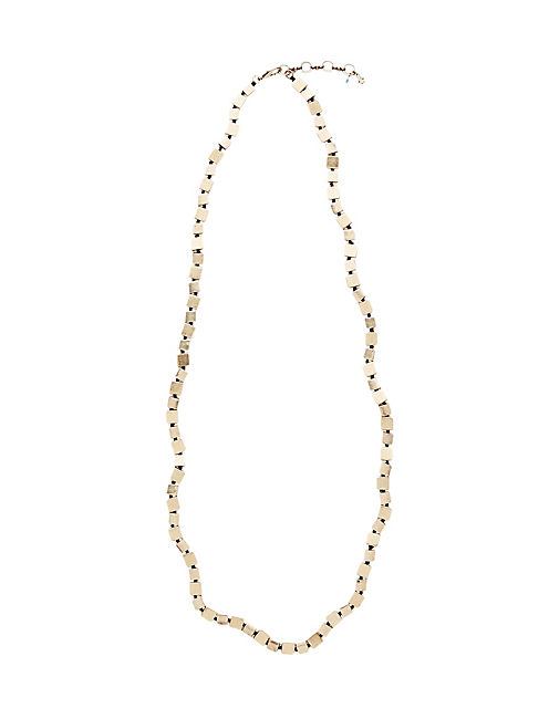GOLD STRAND NECKLACE, 715 GOLD
