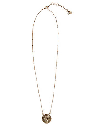 LUCKY GOLD PAVE NECKLACE