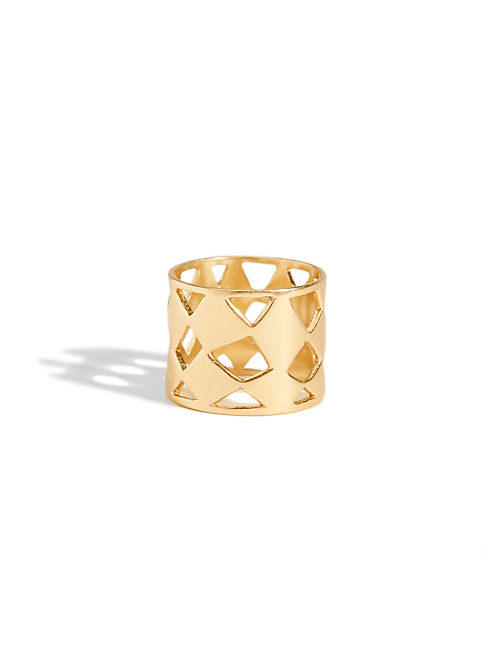 GOLD OPENWORK RING, 715 GOLD