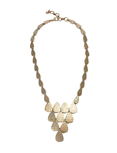 GOLD COLLAR NECKLACE, 715 GOLD