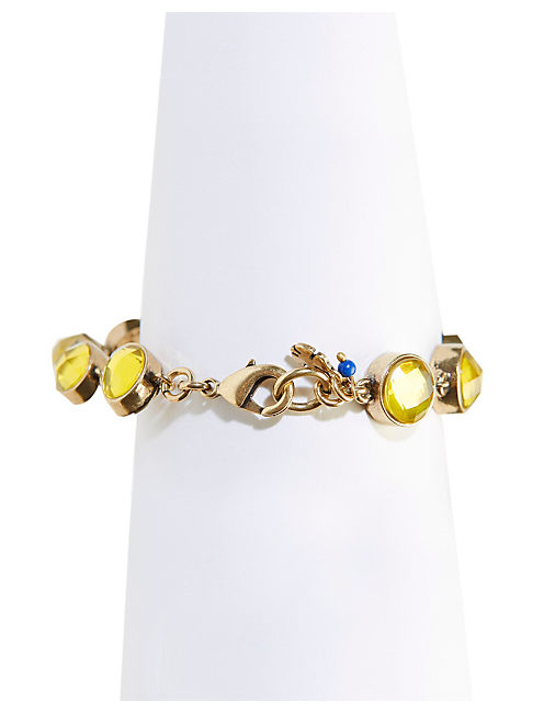 CITRINE FLEX BRACELET, 715 GOLD