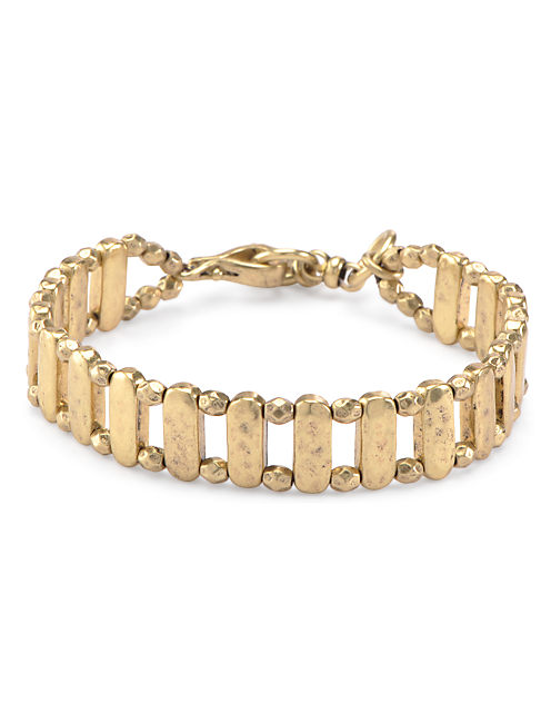THIN METAL LINK WRAP, 715 GOLD