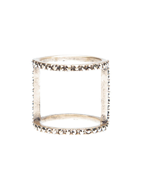 SIMPLE PAVE RING, 715 GOLD