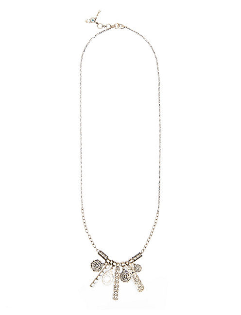 CLEOBELLA CHARM NECKLACE, 715 GOLD