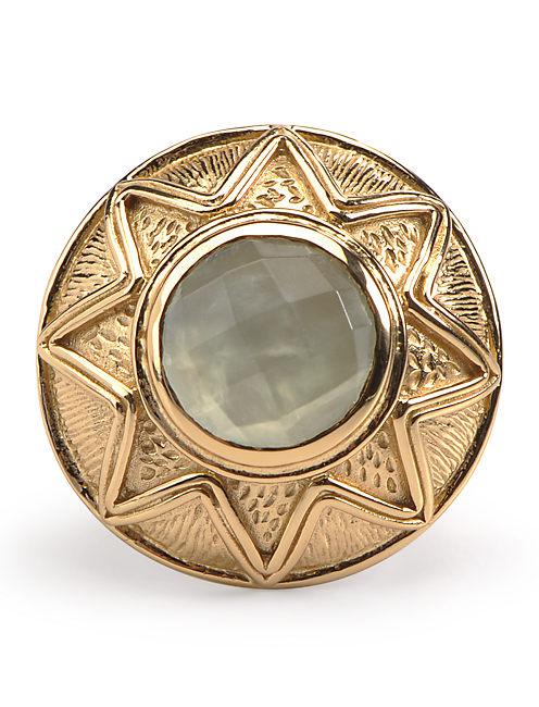 STARBURST RING, 715 GOLD