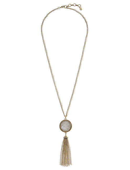 TASSEL NECKLACE,