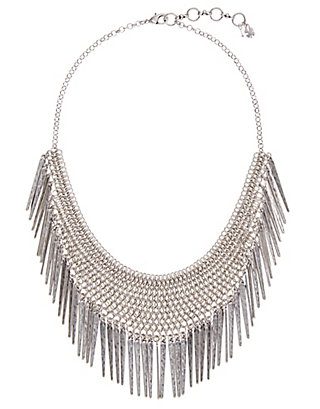 LUCKY CHAINMAIL SPIKED NECKLACE