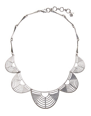 LUCKY SILVER OPENWORK NECKLACE
