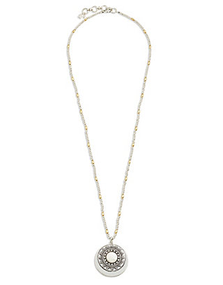 LUCKY PEARL PENDANT NECKLACE