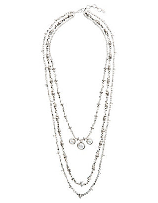 LUCKY PEARL LAYERED NECKLACE