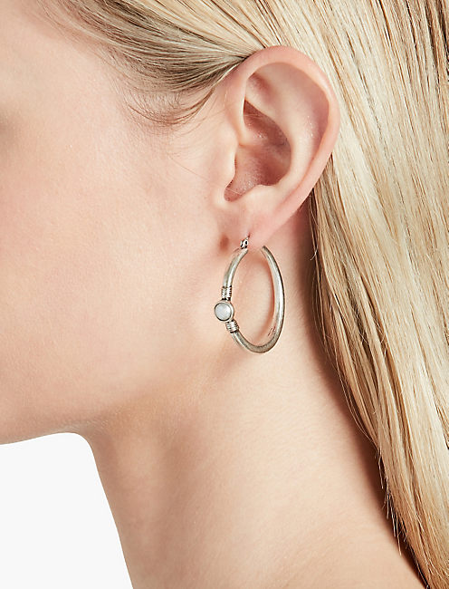 PEARL MINI HOOPS,