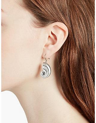 LUCKY SHELL DROP EARRINGS