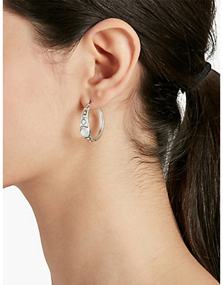 LUCKY SIMPLE HOOP EARRINGS