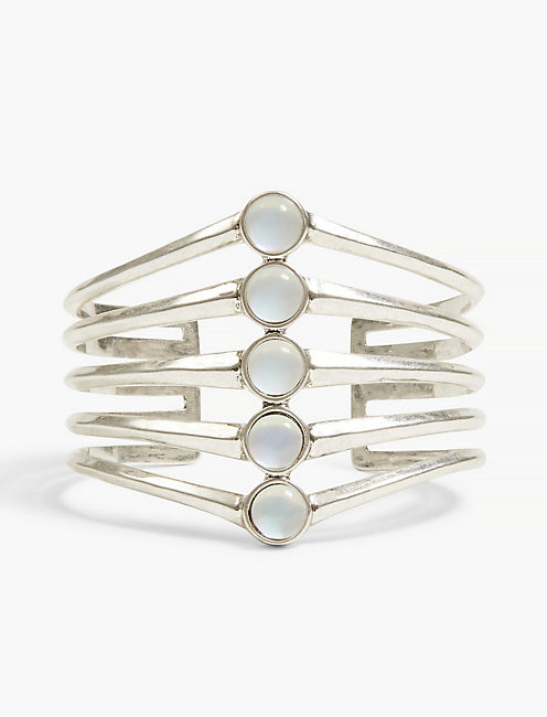 MOONSTONE STACK CUFF,