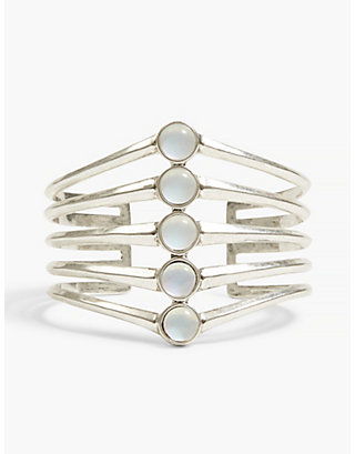 LUCKY MOONSTONE STACK CUFF