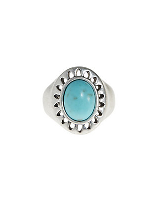 LUCKY TURQUOISE RING