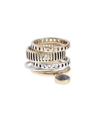 LUCKY STACK RING SET