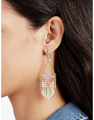 LUCKY THE POINT FIRE EARRING