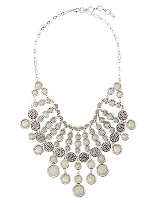 LUCKY PAVE COLLAR NECKLACE