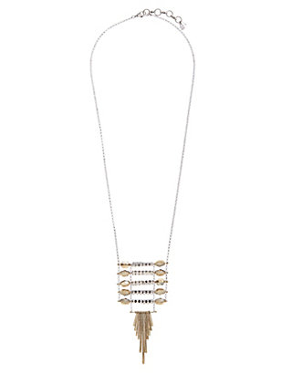 LUCKY TWO TONE LADDER PENDANT